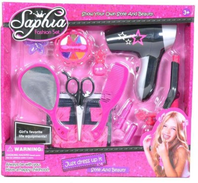 Building Mart Fashion Set with Hair Dryer & Accessories