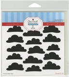 Gourmet Rubber Stamps Clouds Stencil, 6 ...