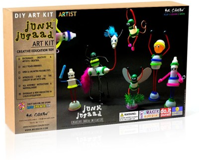 Be Cre8v Junk Jugaad Artist DIY Kit