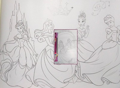 Disney Princess Color-in Posters