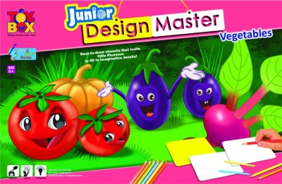 Toysbox Design Master Junior Vegetables