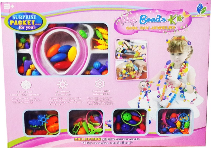 Krypton Pop Beads Set An complete Enjoyment Toy For your Baby Girl.