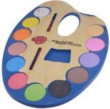 Myra Water Colors Plastic Artist Palette...