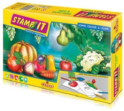 Zephyr Stamp It (Fruits and Vegetables)