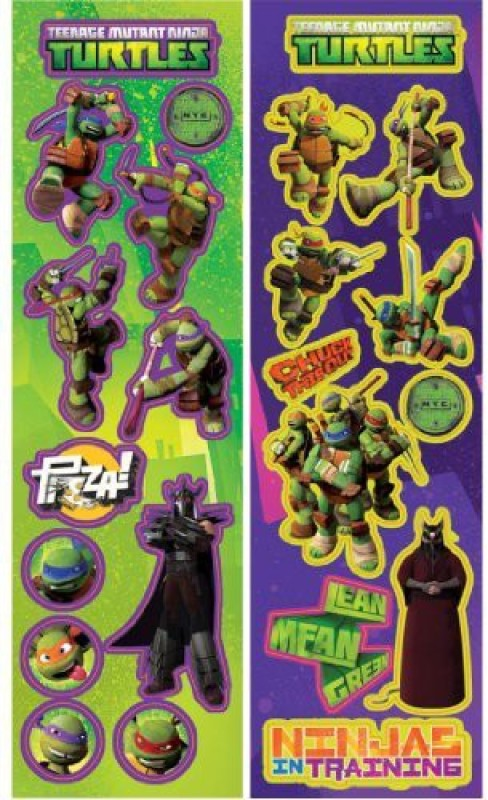 Amscan Mutant Ninja Turtles Stickers