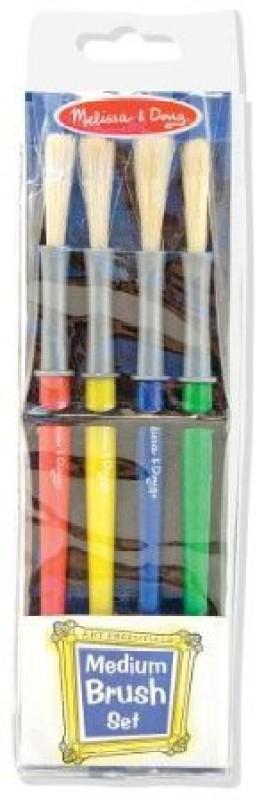 Melissa & Doug Melissa & Doug Medium Paint Brushes, Set of 4
