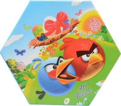 Lotus 46 Piece Angry Birds Art Craft Kit