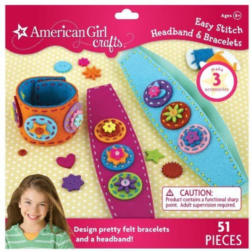 American Girl Crafts Easy Stitch Headband and Bracelets Kit
