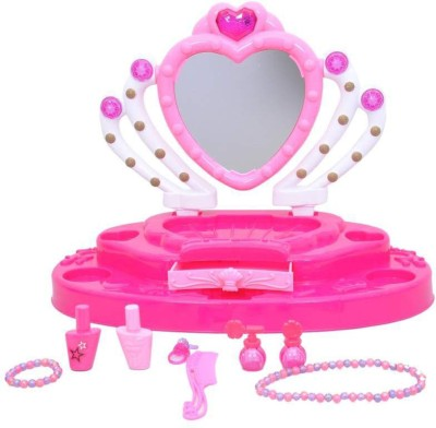 Toys Bhoomi Princess Glamour Mirror Dressing Table