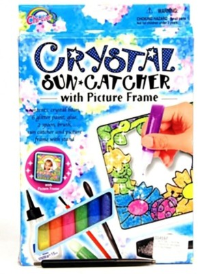 Amigo Crystal Sun Catcher With Picture Frame