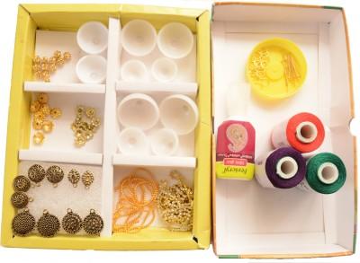 udhayam Silk Thread Jhumkas Making Kit