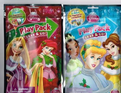 Disney Princess Christmas Play Pack Grab & Go