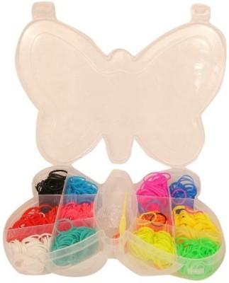 Homeshopeez Mini Loom Bands Butterfly Accessory Kit