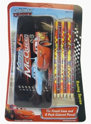 Disney Cars Tin Pencil Case