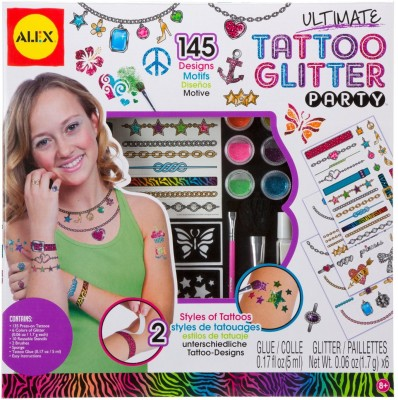 Alex Toys Ultimate Tattoo Glitter Party