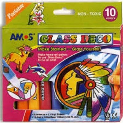 Neo Gold Leaf Amos Glass Deco 04