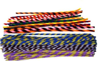 Atanands 12inch 10pcs Twisted Craft Pipe Cleaners