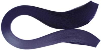 Tootpado 1000 Non-Metallic Quilling Paper Ribbons Strips (Indigo 5mm)