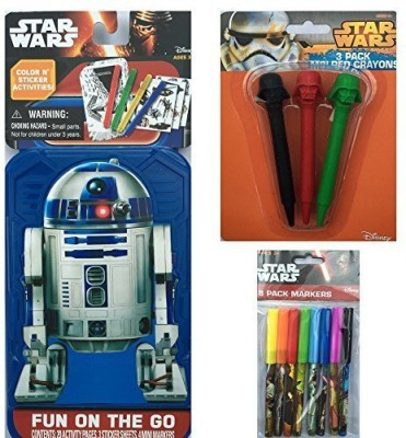 Disney R2D2 Activity Set with Colors and Markers