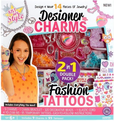 Hamleys Horizon Just My Style 2 in 1 Designer Charm and Tatoo