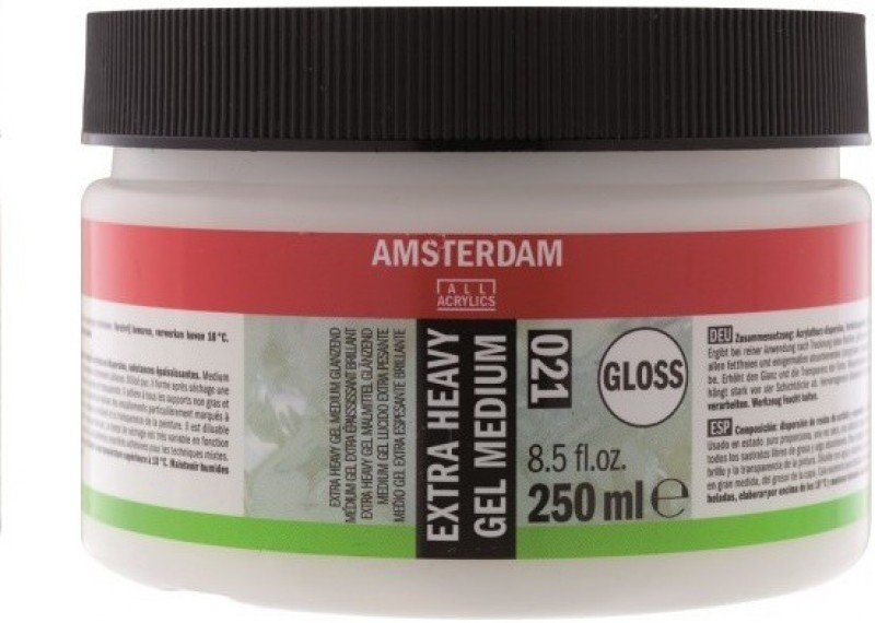 Royal Talens Amsterdam Extra Heavy Gel Glossy Acrylic Medium(250 ml)