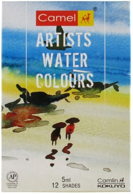 Camlin Water Water Color Medium(5 ml)