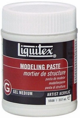 Liquitex Modeling Paste Acrylic Medium(237 ml)