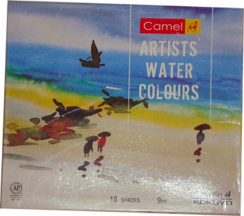 Camlin Water Water Color Medium(9 ml)