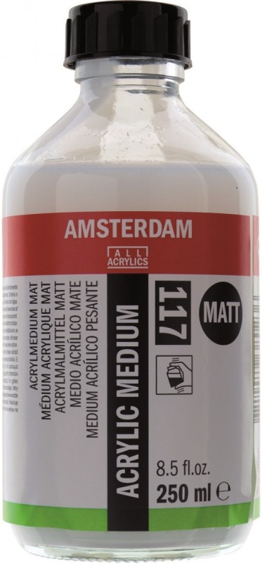 Royal Talens Amsterdam Matt Acrylic Medium(250 ml)