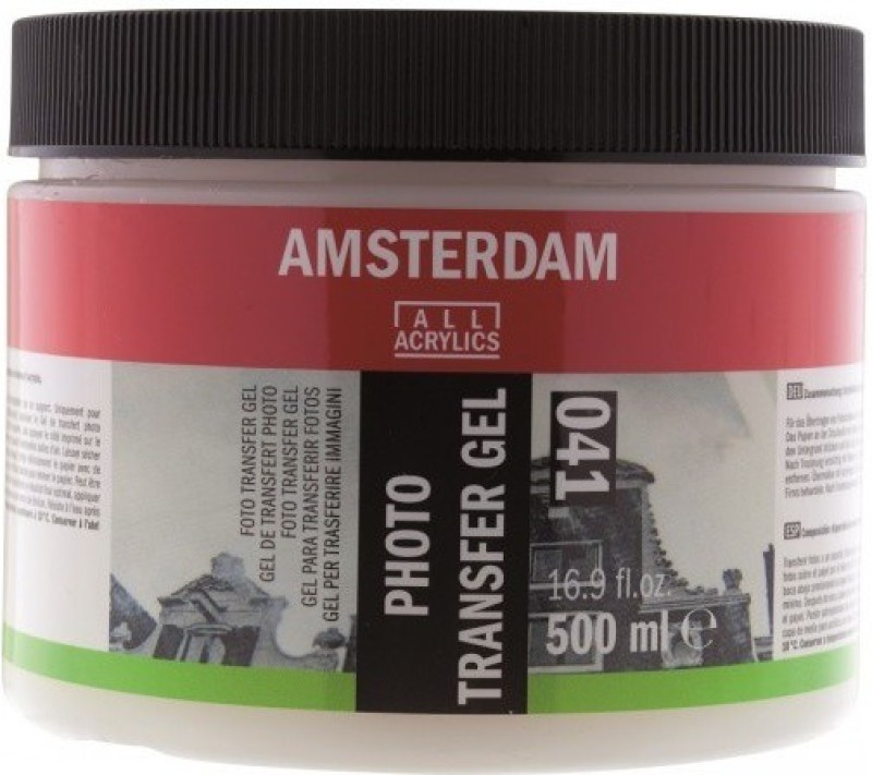 Royal Talens Amsterdam Photo Transfer Gel Acrylic Medium(500 ml)