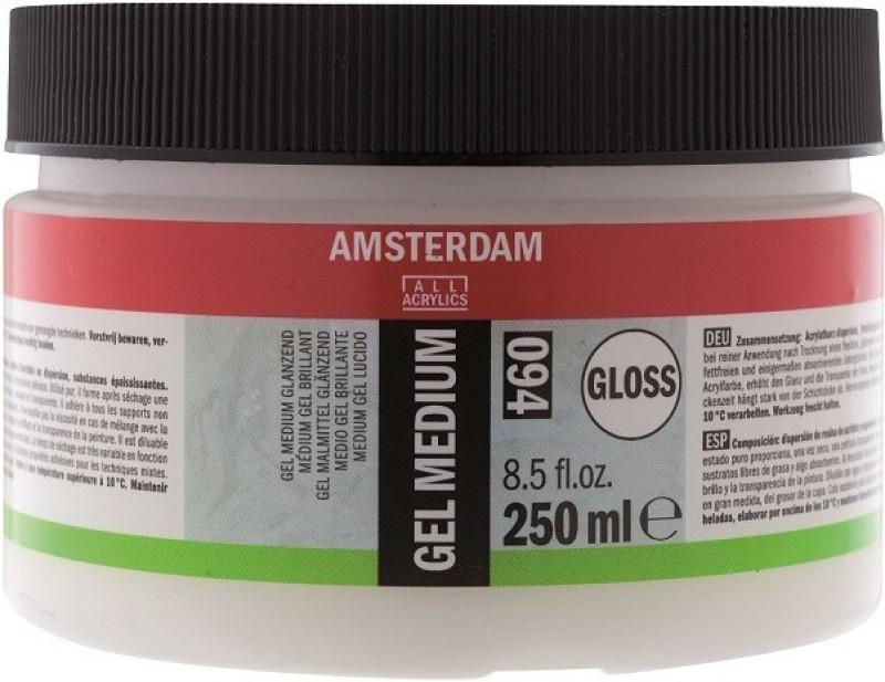 Royal Talens Amsterdam Gel Gloss Acrylic Medium(250 ml)