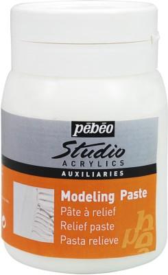 Pebeo Modeling Paste Acrylic Medium(1000 ml)