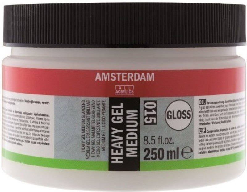 Royal Talens Amsterdam Heavy Gel Gloss Acrylic Medium(250 ml)