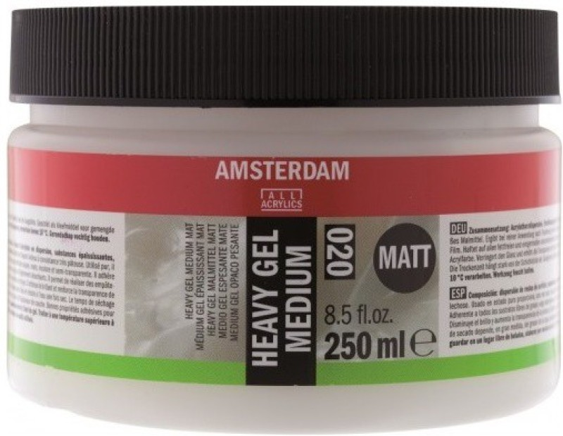 Royal Talens Amsterdam Heavy Gel Matt Acrylic Medium(250 ml)