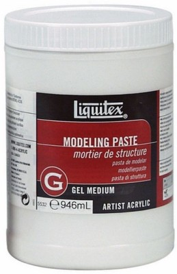 Liquitex Modeling Paste Acrylic Medium(946 ml)
