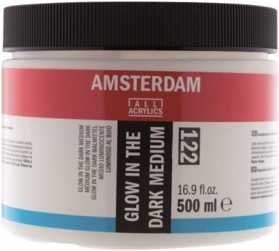 Royal Talens Amsterdam Glow in the Dark Acrylic Medium