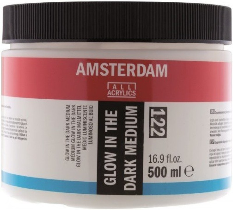 Royal Talens Amsterdam Glow in the Dark Acrylic Medium(500 ml)