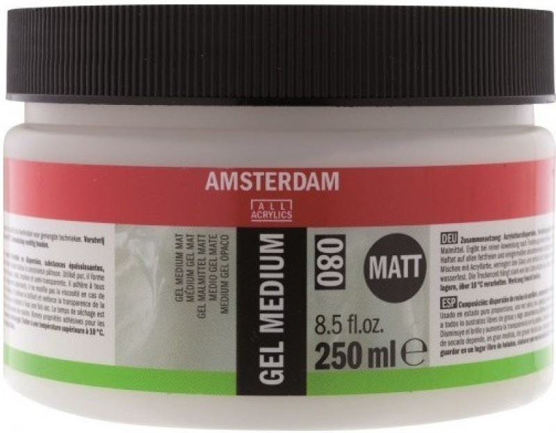 Royal Talens Amsterdam Gel Matt Acrylic Medium(250 ml)