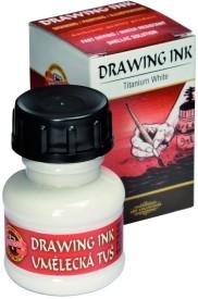 Koh-I-Noor 141750 Drawing Ink (Titanium White)