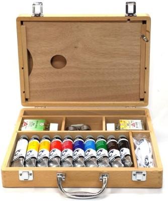 Royal Talens Van Gogh Acrylic Color Box - Wooden