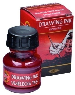 Koh-I-Noor 141755 Drawing Ink (Alizarin Red)