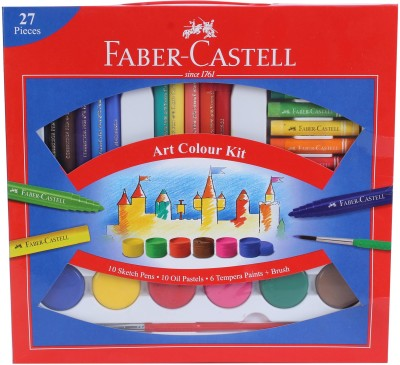 Faber-Castell Colouring Combo Art Set