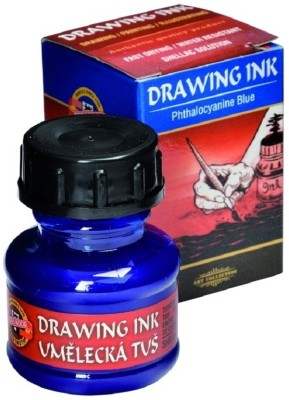 Koh-I-Noor 141758 Drawing Ink (Phthalocyanine Blue)