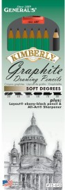 General's Kimberly Graphite Pencil Kit