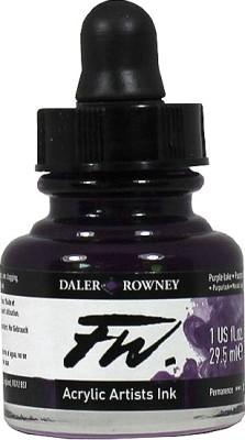 Daler-Rowney Drawing Ink (Purple Lake)