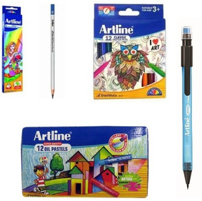 Artline Art Collection Drawing & Colouring Set