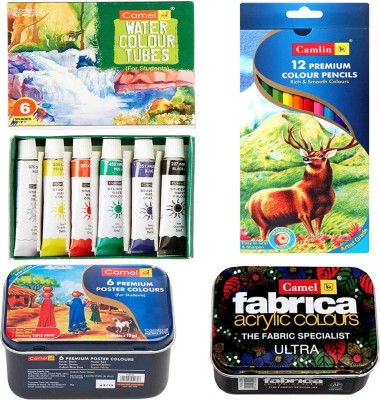Camlin Multi Colour Art Set