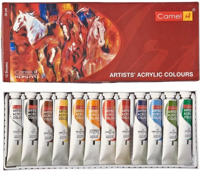 Camlin Colour Me 12 Art Set