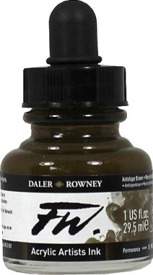 Daler-Rowney Drawing Ink (Antelope Brown)