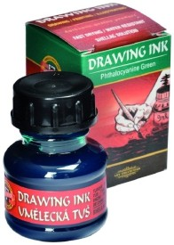 Koh-I-Noor 141759 Drawing Ink (Phthalocyanine Green)